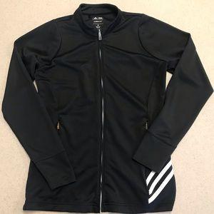 Adidas Golf Climalite Zip Up Jacket Black XS
